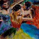 The dancers  by Jennib