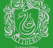 Slytherin Crest (with quotes) by Dichotomia