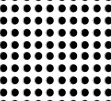 Punch Hole Grid Design Sticker