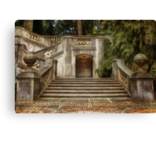 Grand Garden Staircase at Winterthur Canvas Print