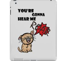 ROAR iPad Case/Skin