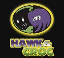 Hawk & Croc Lock-On shirt T-Shirt