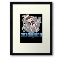 Doctor Mew Framed Print