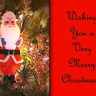 Vintage Santa Card by Sheryl Kasper
