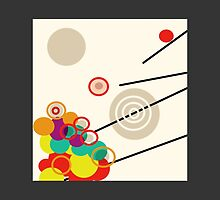 BALLS BUBBLES and RODS Modern Abstract by ackelly4