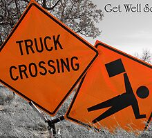 Get Well Soon Card by Charles Dobbs Photography
