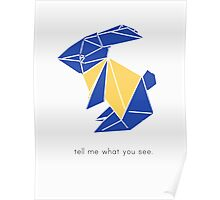 Tell me what you see Poster