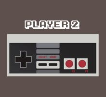 Retro Gamer Design Player 2 by steve-w