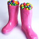 BubbleGumBoots by SLRphotography