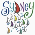 New t-shirt design featuring Sydney yachts by MrCreator