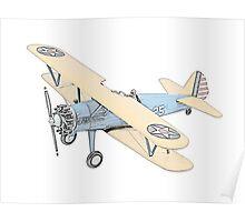 Stearman PT-17 Bi-Plane Poster