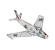 Canadian Sabre Mk VI Jet Aircraft Photographic Print
