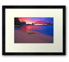 Right Place Right Time Framed Print