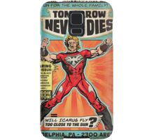 CHIKARA's Tomorrow Never Dies - Official Wrestling Poster Samsung Galaxy Case/Skin