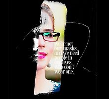 "Arrow - Olicity ""We're not our masks..."" by D. Abdel."