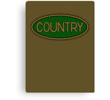 Wonderful Country Music  Canvas Print