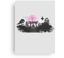 Sakura - Kyoto Japan Canvas Print