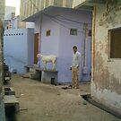 Street in Agra by Lydia Cafarella