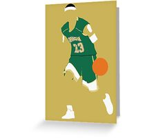 Lebron James High School Greeting Card