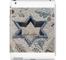 Star of David  in mosaic - Judaism iPad Case/Skin