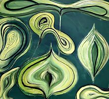 Green onions by Summer Hues