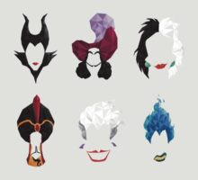 6 Villains by mydollyaviana