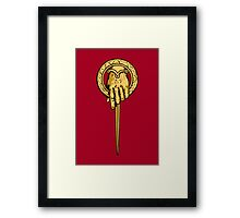 Hand of the King Framed Print