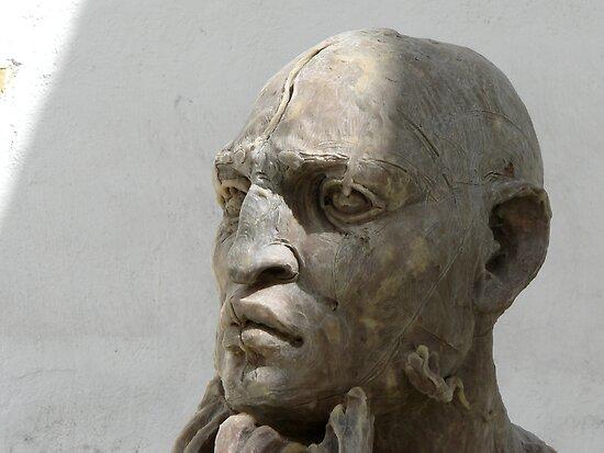 Statue in Oaxaca by Peter Fletcher