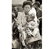'Compassion in hell,' Northern Rwanda  Photographic Print