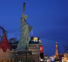 Vegas Strip: New York-NewYork by Daniel J. McCauley IV