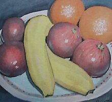 Still Life with Fruit by Tonkin