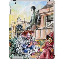 Waiting For The Train In Budapest iPad Case/Skin