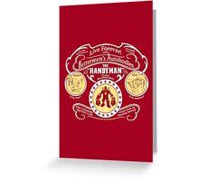Bettermen's Autobodies - The Handyman Greeting Card