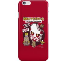 Colossal Ice Cream iPhone Case/Skin