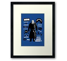 Hodor Famous Quotes Framed Print
