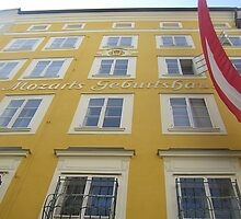 Mozarts Geburtshaus by Meredith Nolan