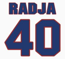 Basketball player Dino Radja jersey 40 by imsport