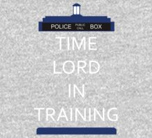 Time Lord In Training Kids Clothes