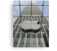 Glass Apple Canvas Print