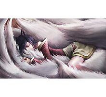 League of Legends - Ahri sleeping Photographic Print