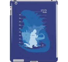 Monster Evolution Blue iPad Case/Skin