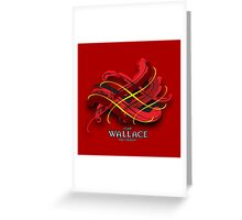 Wallace Tartan Twist Greeting Card