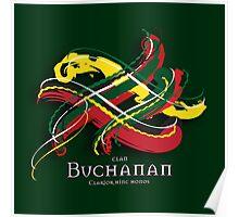 Buchanan Tartan Twist Poster