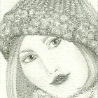Girl With Hat On by Cherie Balowski