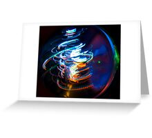 Glass Ball Greeting Card