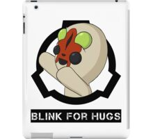 SCP-173 Blink For Hugs (Hollow) iPad Case/Skin