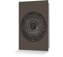 The Pandorica Greeting Card