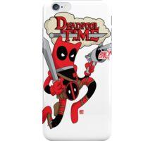 Deadpool Time iPhone Case/Skin