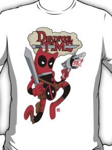 Deadpool Time T-Shirt