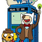 Dr Who Adventure Time by AngelGirl21030